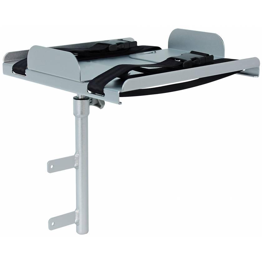 DETECTO Aluminum Defibrillator Shelf for Rescue and Whisper Series Medical Carts
