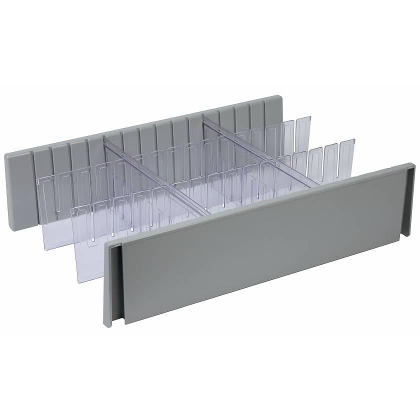 DETECTO 6 Inch Drawer Divider Set for Whisper Series Medical Carts