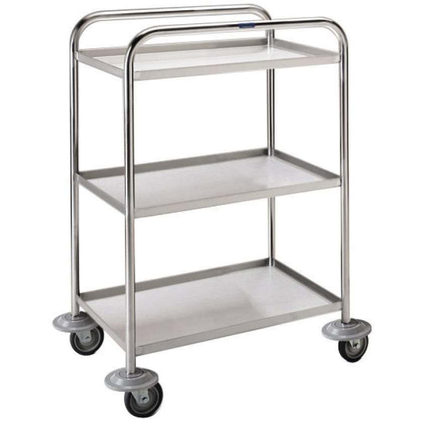 Pedigo Lightweight Stainless Steel Utility Cart