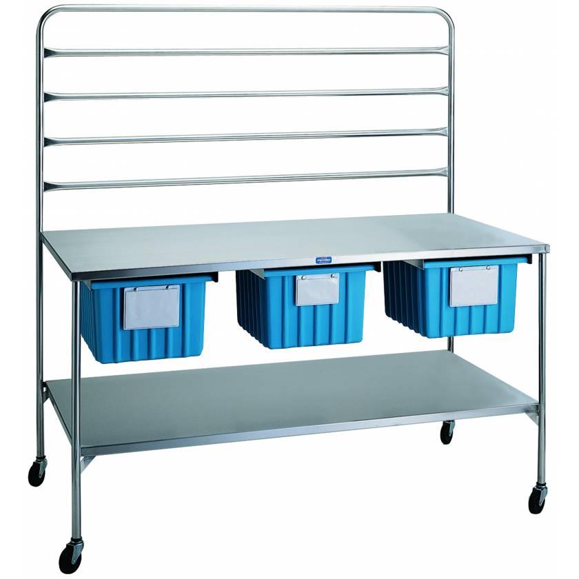 "Pedigo Central Supply Work Table 60"" W x 32"" D x 34"" H"
