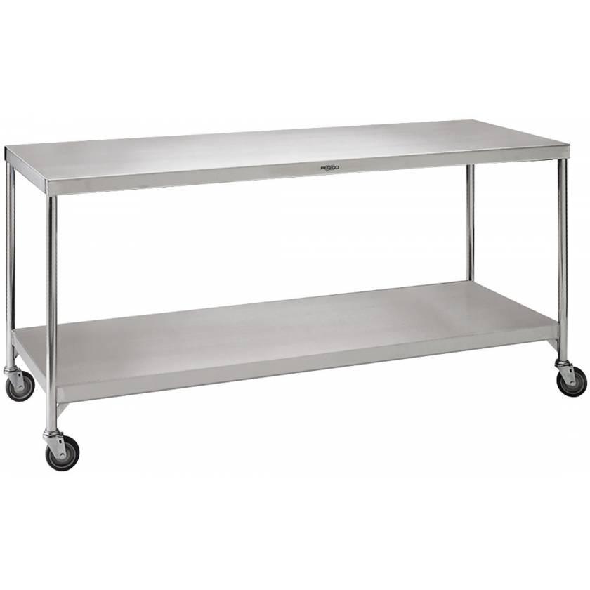 "Pedigo Central Supply Work Table 84"" W x 36"" D x 34"" H"