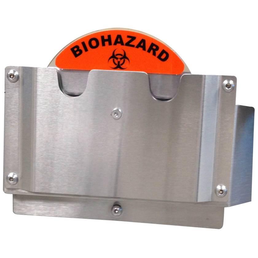 Pedigo CDS-BH ID Wheel - Biohazard Label Position