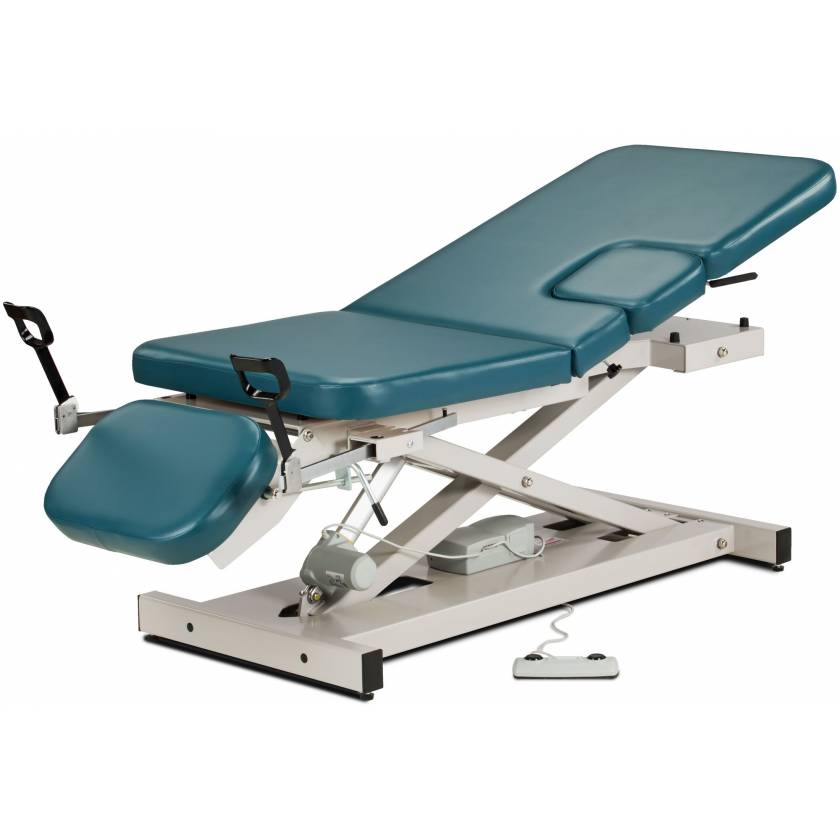 Multi-Use Power Imaging Table with Stirrups