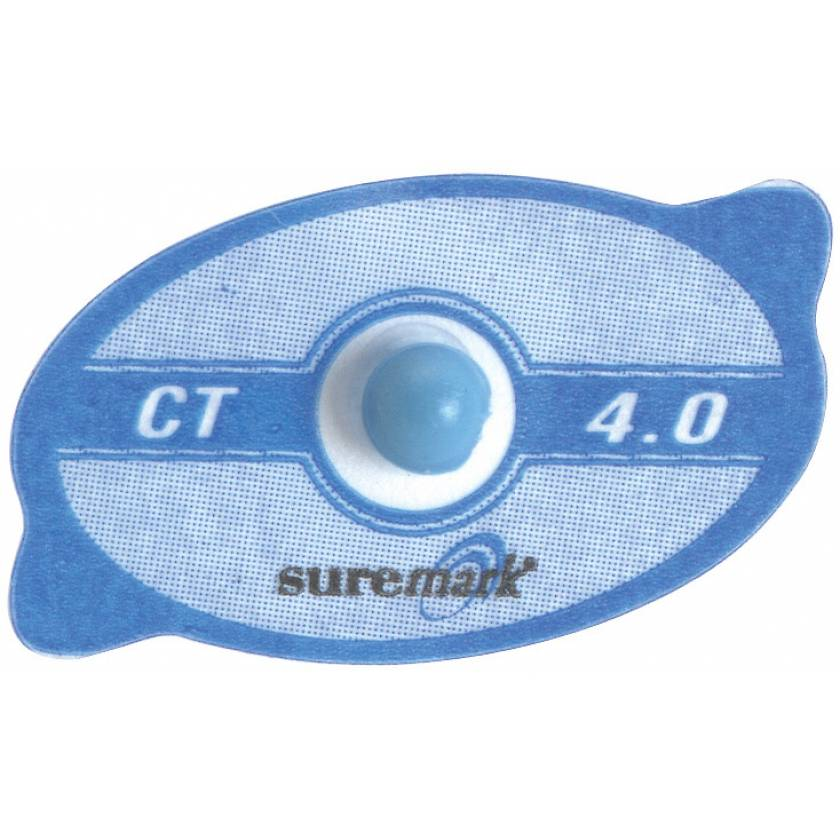 Suremark 4.0mm Blue CT Mark Skin Marker