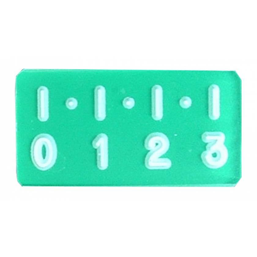 Digital Style Ruler - 3cm