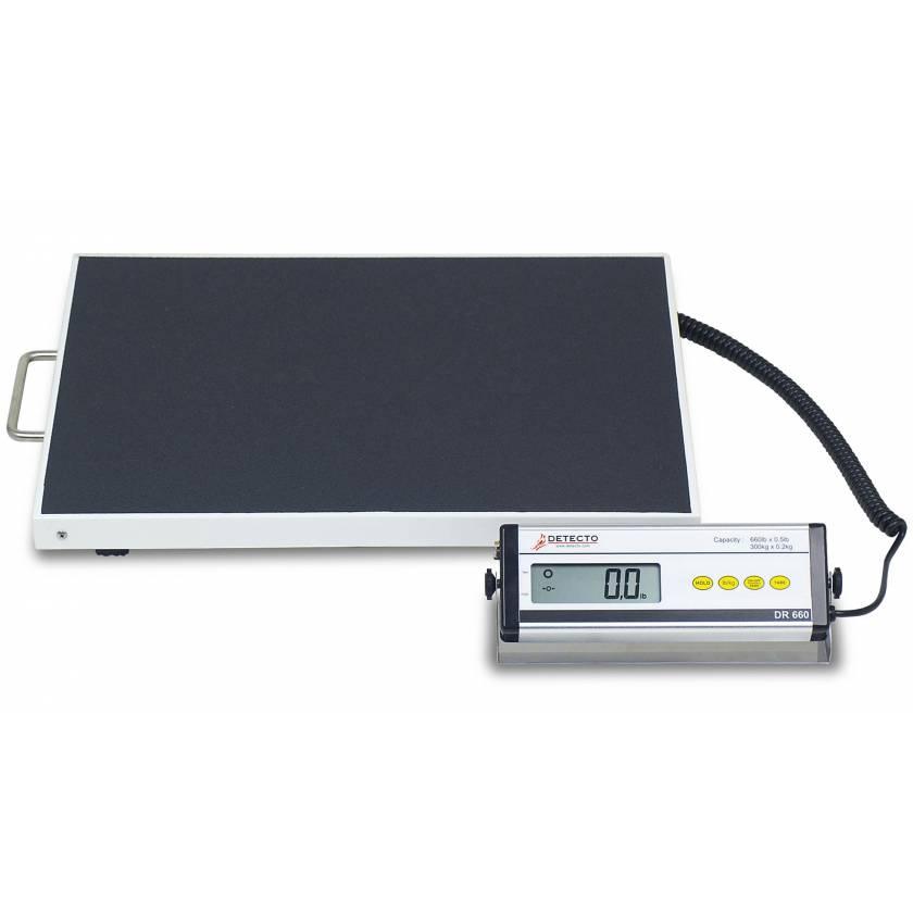 Portable Bariatric Digital Healthcare Scale - 660 lb Capacity