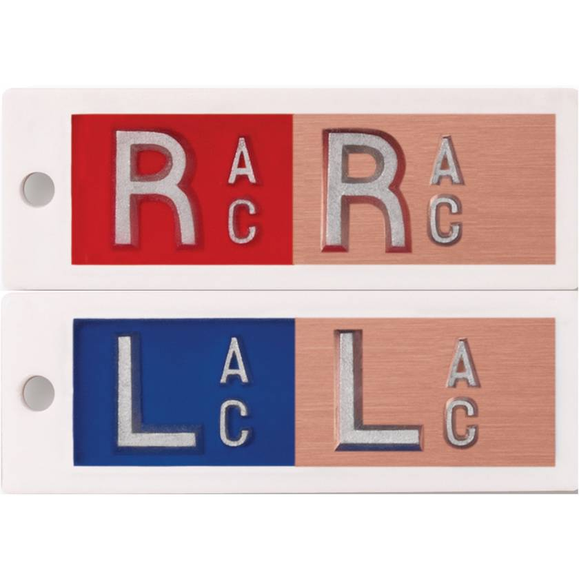 Plastic Copper Markers - Filter/No Filter - 1 to 3 Initials (One Set)
