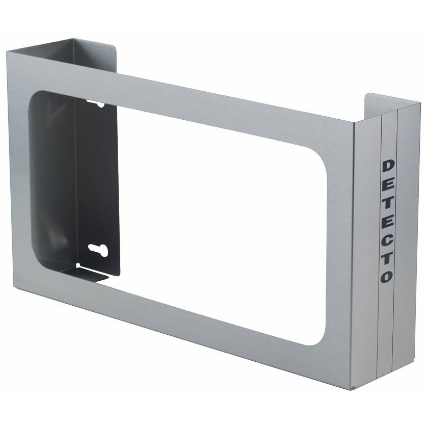 Wall Mount Glove Box Holder - Stainless Steel - 3 Boxes