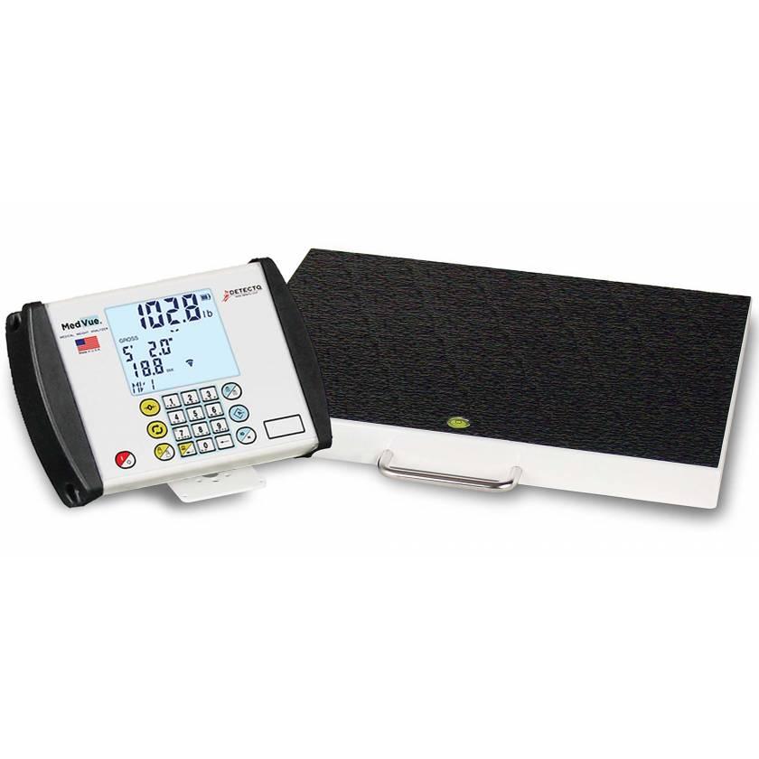 Portable Digital Healthcare Scale 600 lb Capacity