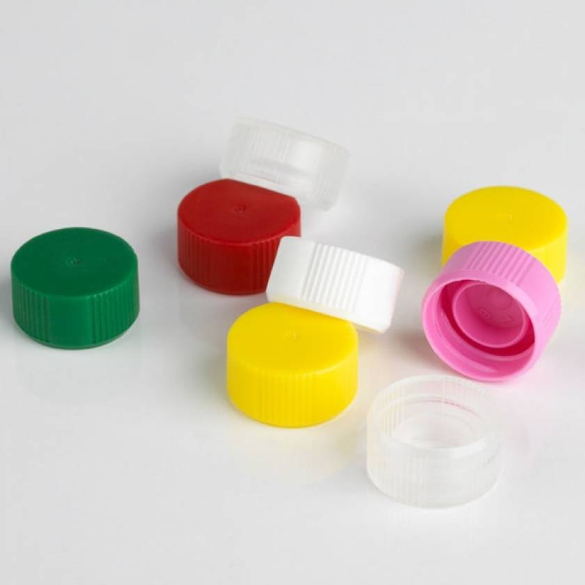 Screw Caps without O-Ring for Globe Scientific Microtubes