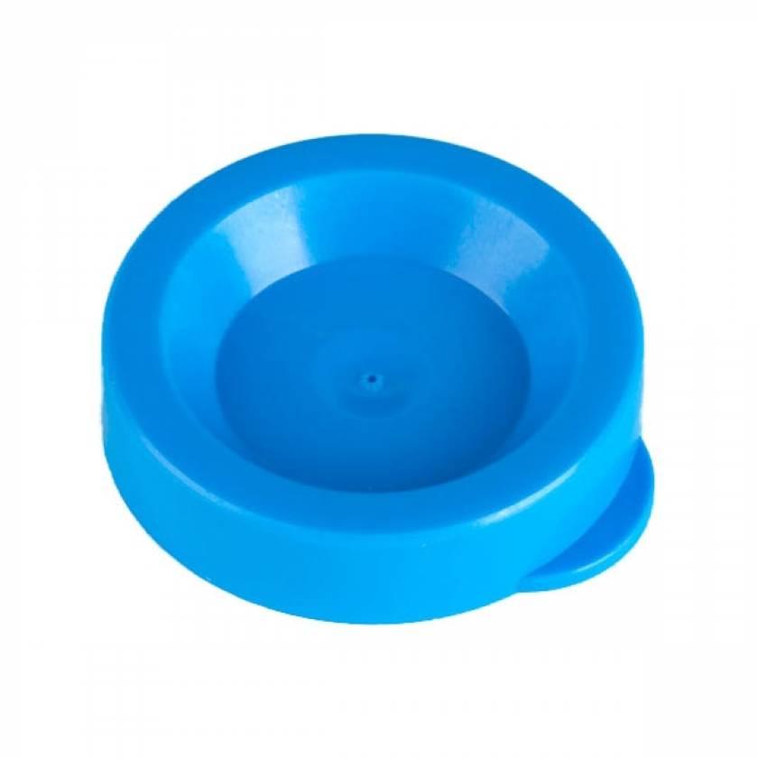 Snap Cap for 12mL Flared Top Urine Centrifuge Tube - Polyethylene (PE) - Blue