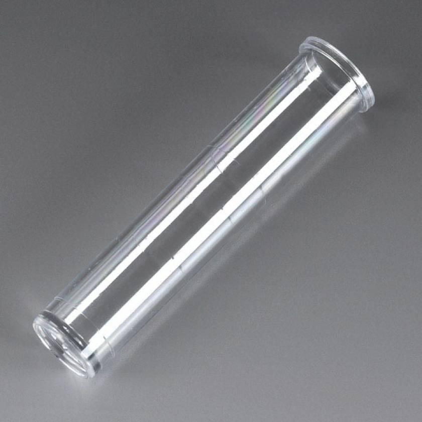 12mm x 57mm (3mL) Tube with Rim - Polystyrene (PS) - Flat Bottom