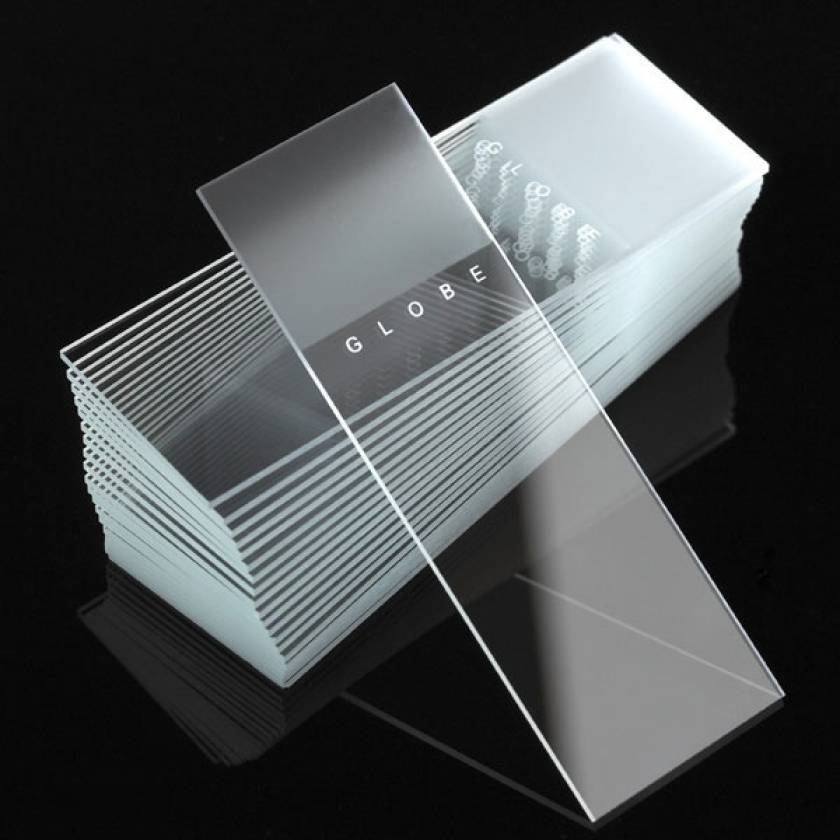 Microscope Slides - Diamond White Glass - Frosted - 90° Ground Edges 90°Corners