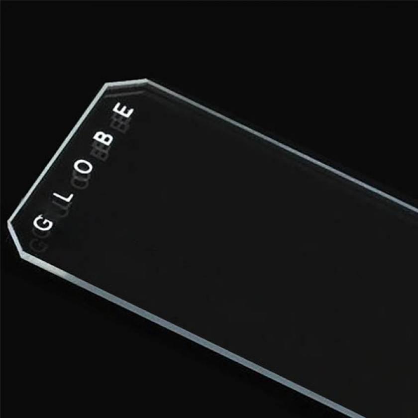 Microscope Slides - Diamond White Glass - Plain - 45° Beveled Edges Clipped Corners