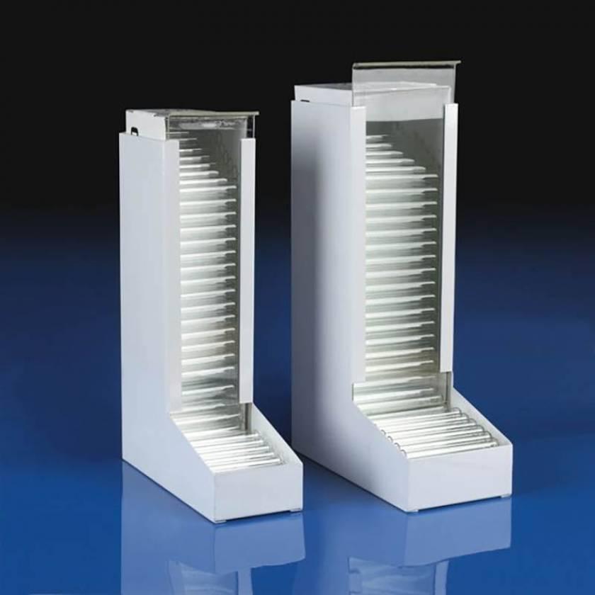 Metal Dispenser for Borosilicate Glass Culture Tubes