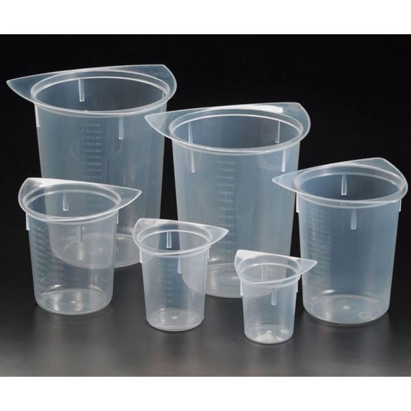 Tri-Corner Beakers - Clarified Polypropylene