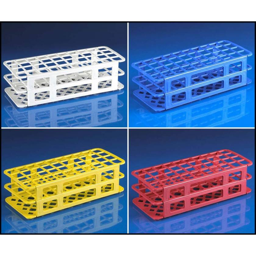 40-Place Snap-N-Racks Tube Racks for 20mm/21mm Tubes - Polypropylene