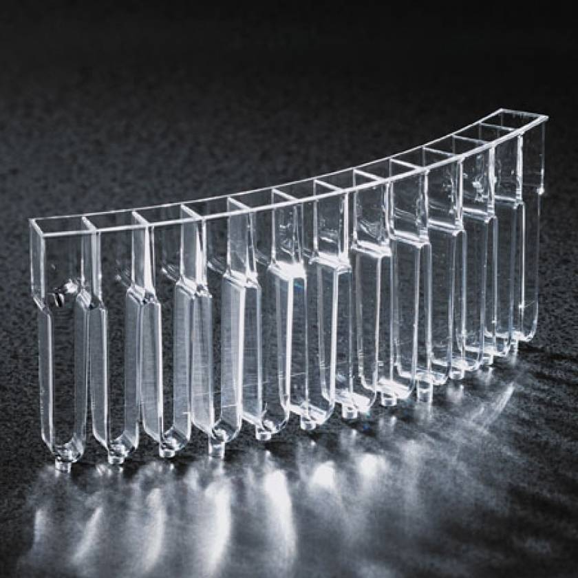 Cuvette for Cobas Mira, Mira S, Mira Plus and Horiba ABX Mira Plus Analyzers - 12-Place Segment - Individually Wrapped