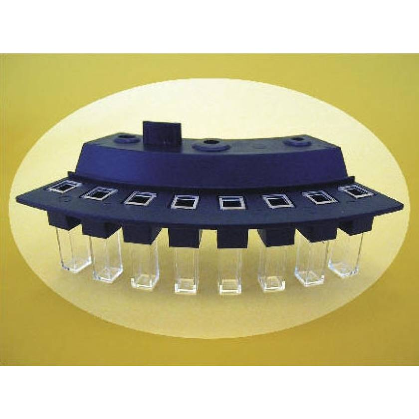 Cuvette for Hitachi 902 Analyzers - 8-Place Segment