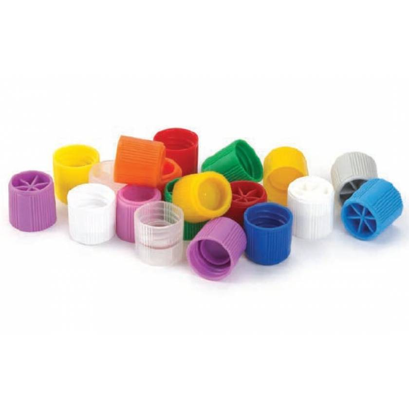 Screw Caps for Sample Tubes with External Threads - Polypropylene