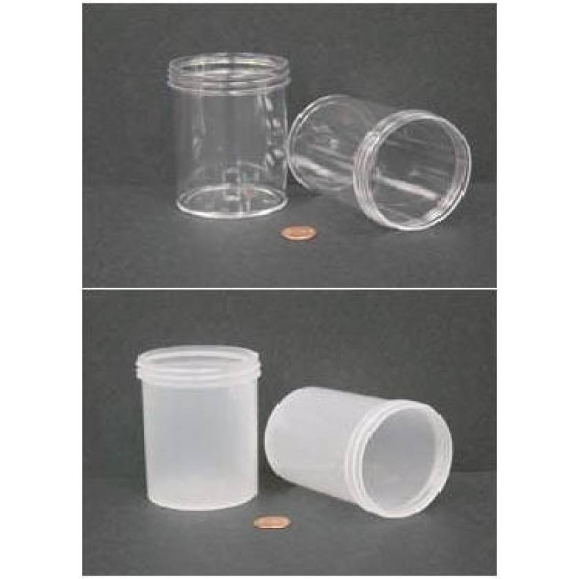"""240mL (8 oz) Wide Mouth Jar with 70mm Opening - 2 7/16"""" x 3 3/8"""""""