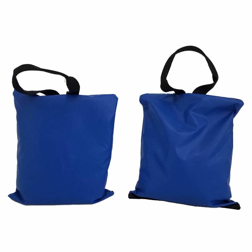 "General Sandbag - 6 Piece Set (Image shown two 10 lbs - Size 11"" x11"" Sandbags)"