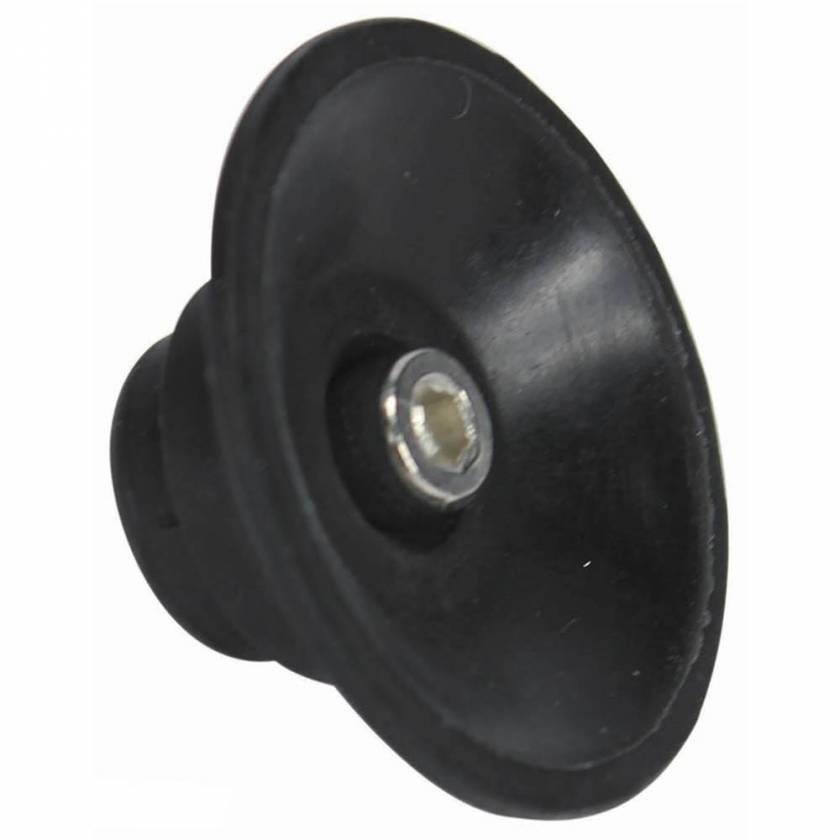 Globe Scientific GVM-AS-FOOT Rubber Suction Foot with Screw for GVM-AS Vortex Mixer
