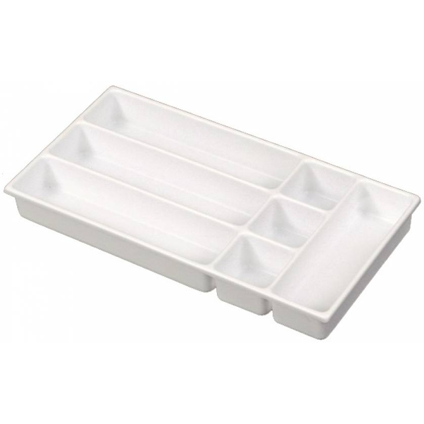 Seven-Compartment Drawer Tray for Classic and OptimAl Line Carts