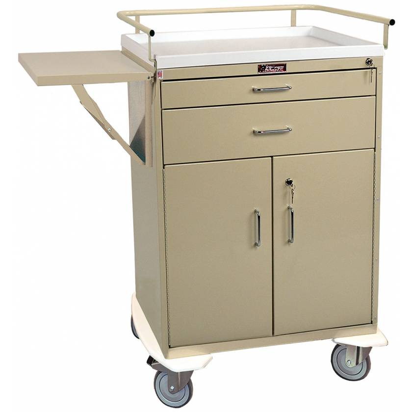 Classic Line Treatment Cart - Two Drawer with Lower Storage Compartment - Specialty Package