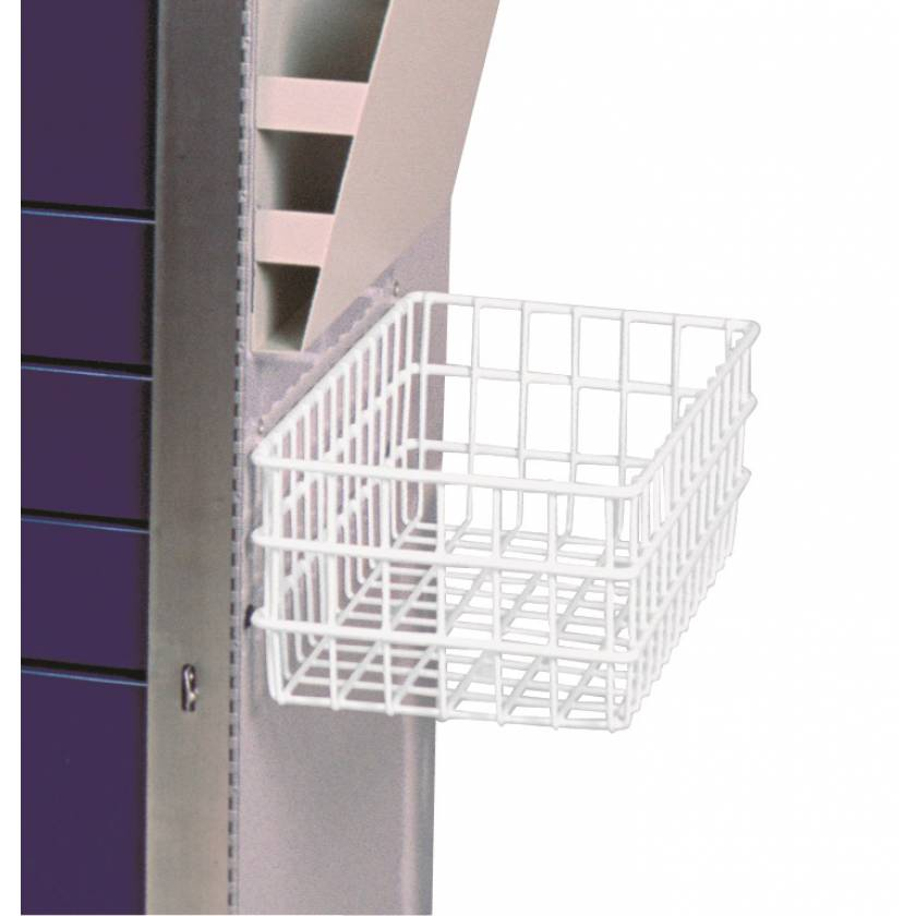 Large Utility Basket with Mounting Brackets for Classic, Mini, and Universal Line Carts