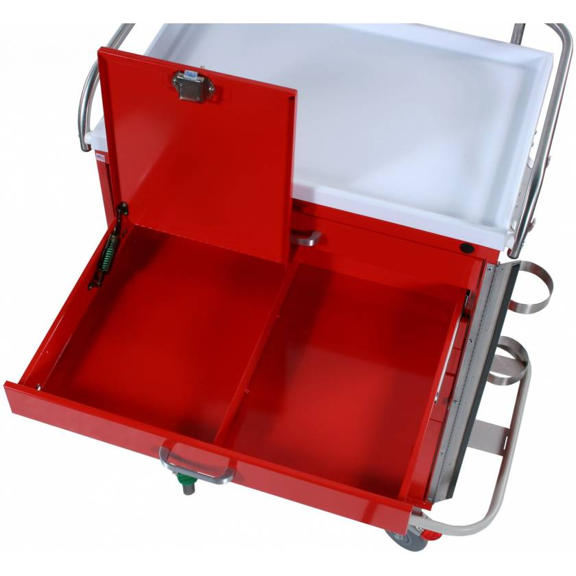 Locking Narcotics 1/2 Drawer for Classic Line Carts