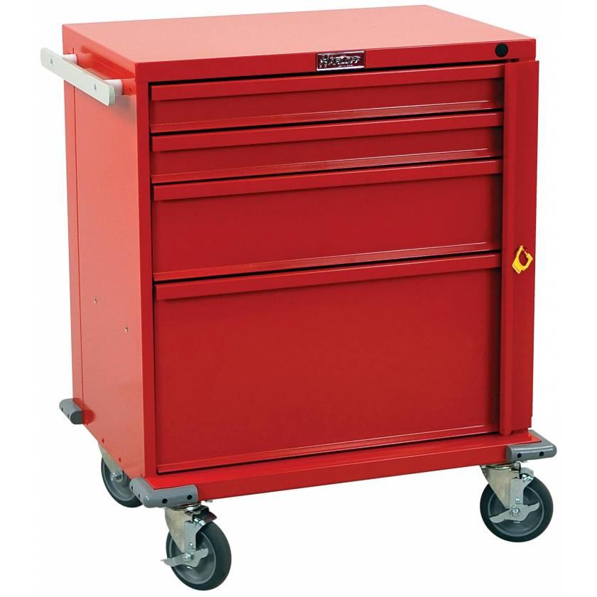 V-Series Emergency Cart Four Drawer - Standard Package