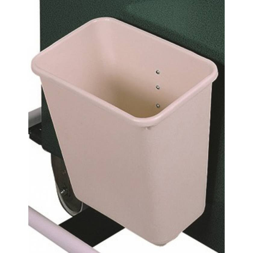 2 Gallon Plastic Waste Container without Cover for V-Series Carts