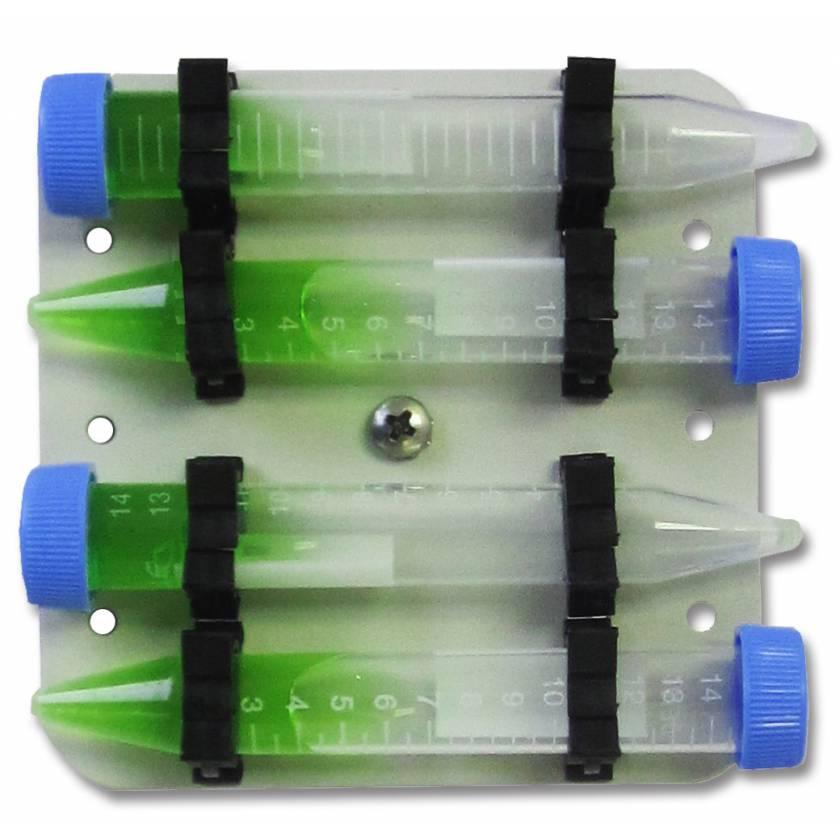 MAGic Clamp Tube Rack For 4 x 15ml Tubes - Horizontal
