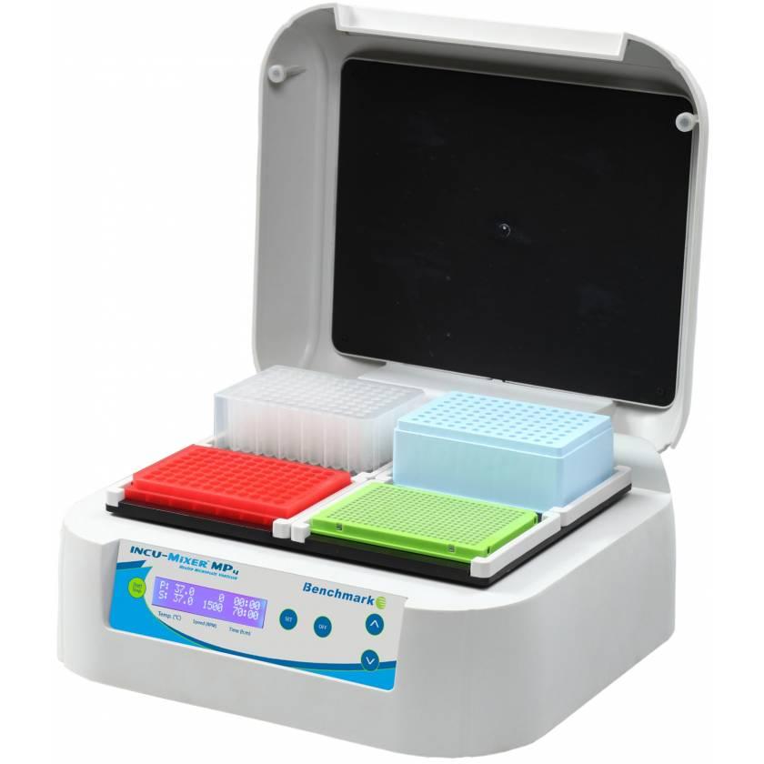 Incu-Mixer MP4 Heated Microplate Vortexer - 4-Plate Format