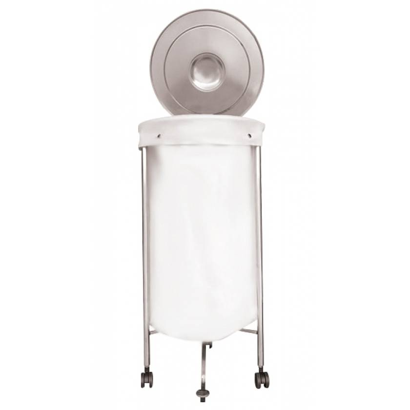 MRI Non-Magnetic Stainless Steel Hampers