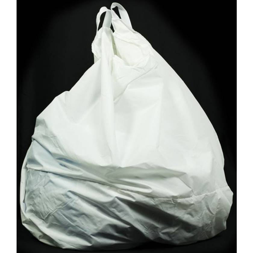 "Reusable Nylon Hamper Bag - White 18"" Diameter"