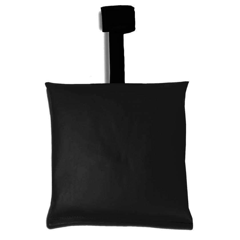 Black Heavy-Gauge Vinyl Sandbag with AC Joint Handle
