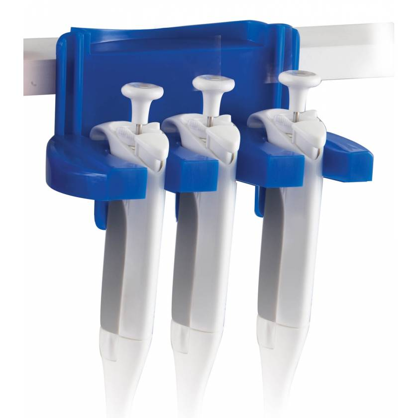 Tri-Clamp-ette Pipette Holder Blue
