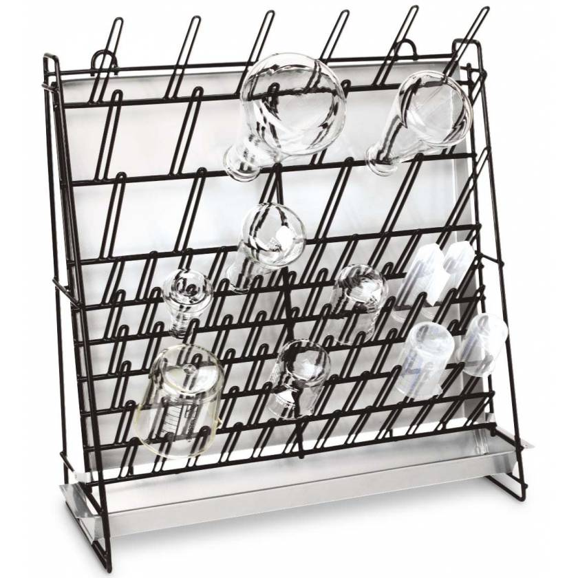 Glassware Wire Drying Rack