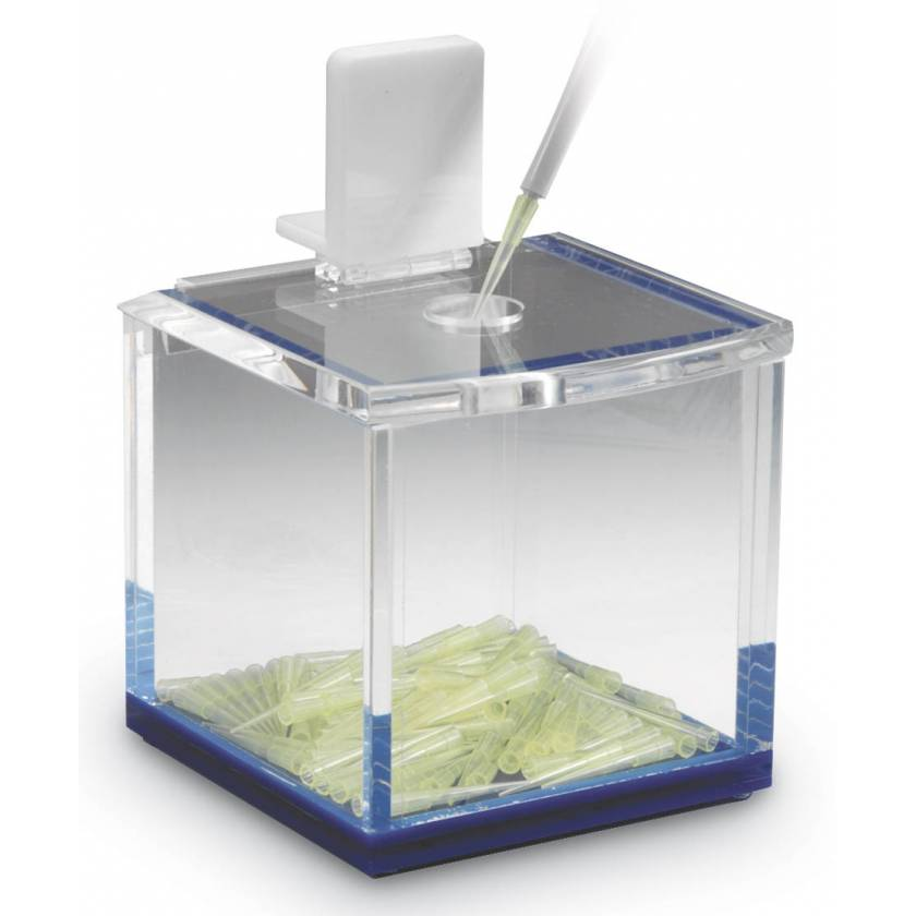 Pipette Tip Disposal Box - Acrylic
