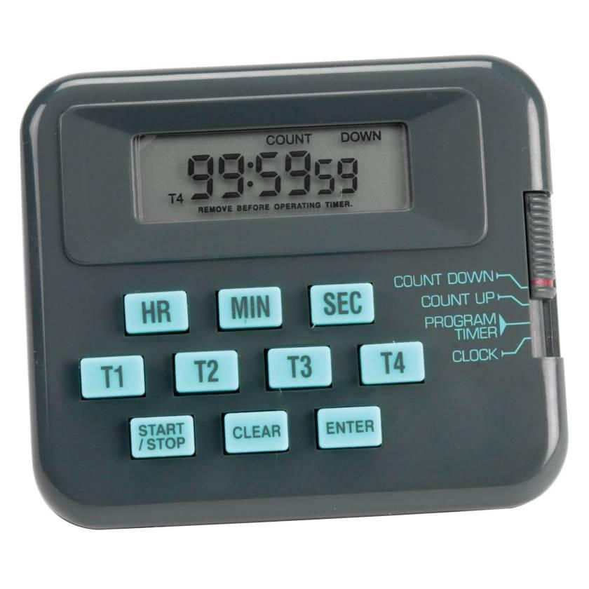 Lab Alert® Pocket Timer/Stopwatch