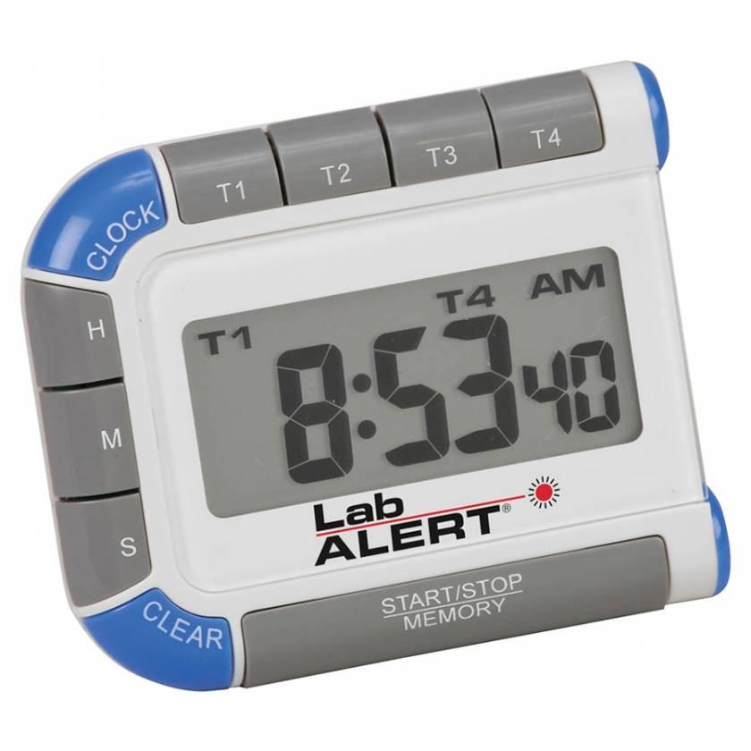 Lab Alert Four Channel Timer/Clock