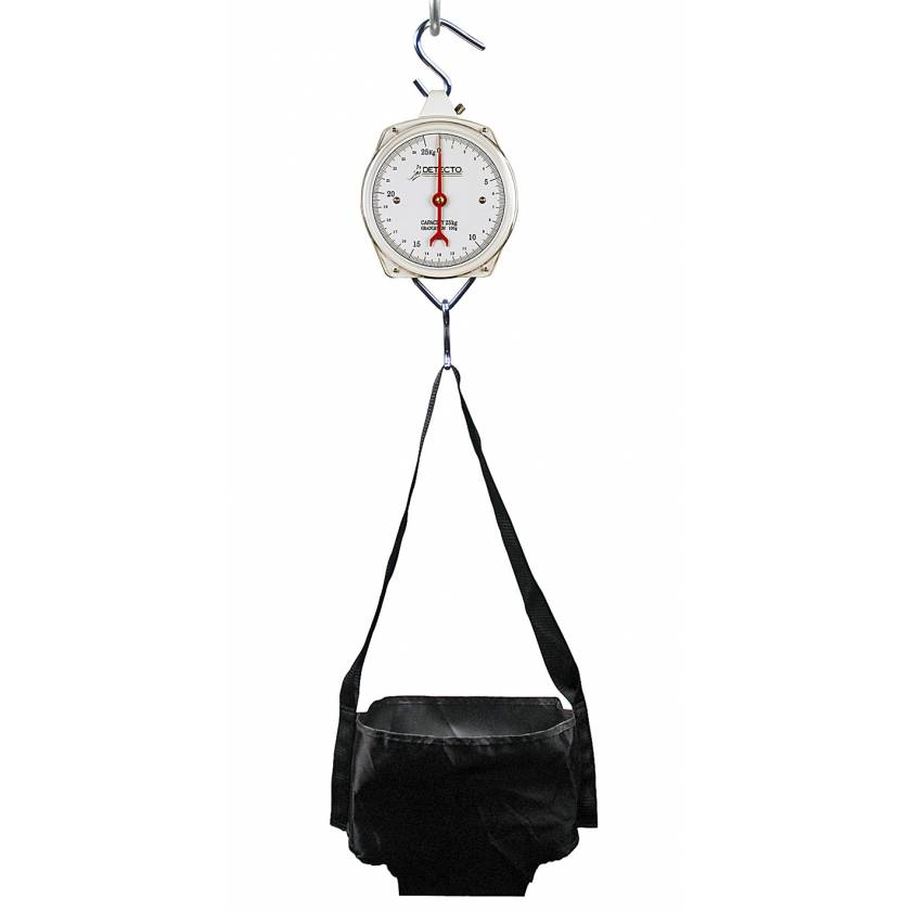 Dial Baby Scale with Waterproof Hanging Sling Seat 25 kg Capacity