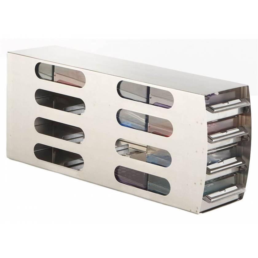 Arctic Squares 4x4 Upright Freezer Rack Horizontal SS Rack