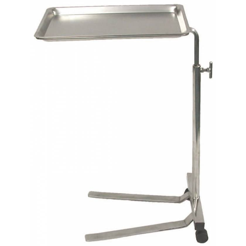 MRI Non-Magnetic Stainless Steel Mayo Stand