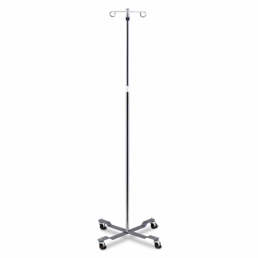 Clinton IV-40 2-Hook, 4-Leg Economy Twist-Lock IV Stand