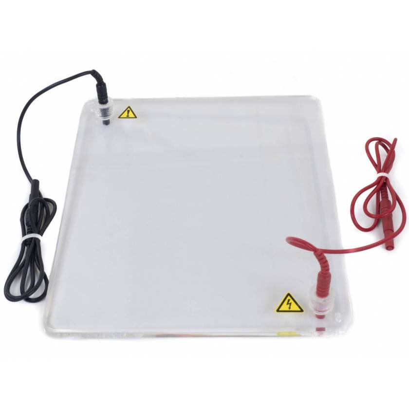Replacement Lid with Power Cords for JSB-96 Horizontal Electrophoresis System