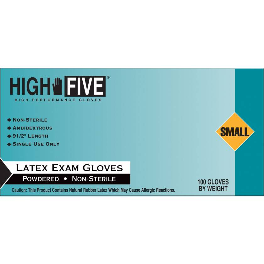 Smooth Latex Exam Gloves