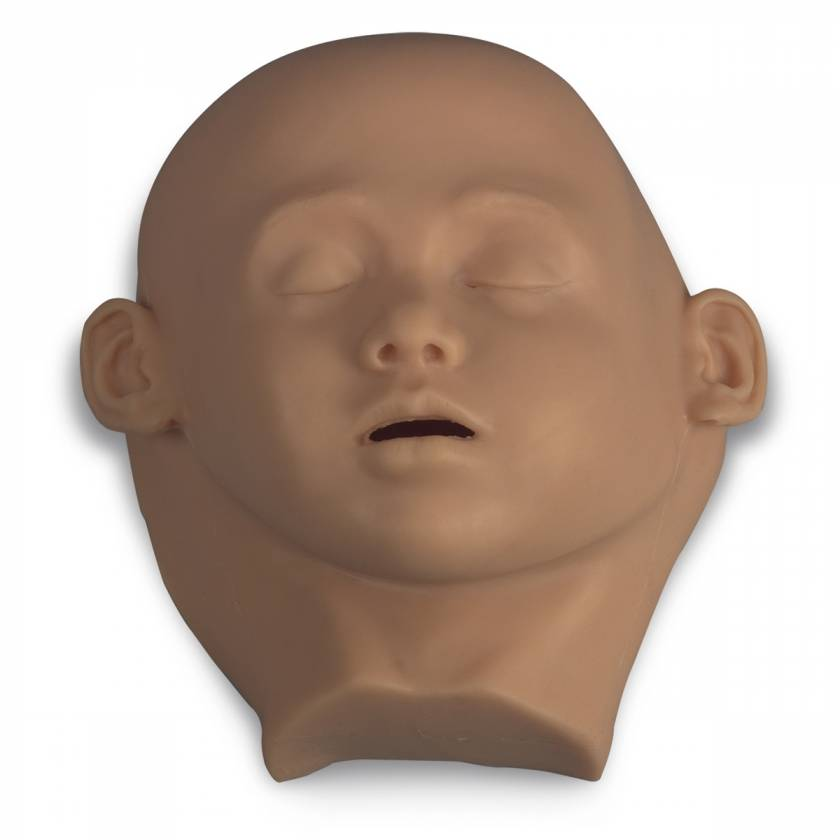 Life/form Replacement Pediatric Head Skin